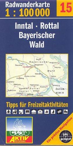 Preisvergleich Produktbild Fahrradkarte Radkarte Inntal Rottal und Bayerischer Wald 1:100.000