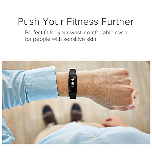 Fitness Tracker Tonbux Upgraded sensible Watch Wristband Heart Rate Monitor Blood Press Monitor OLED Pedometer Bluetooth 40 for Outdoor operating Walking For iOS Android sensible cellular V7 Black Golf Course GPS Units