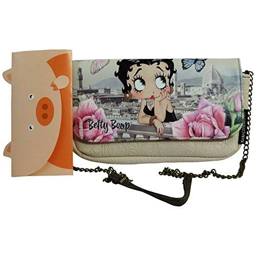 Preisvergleich Produktbild Betty Boop Florence Clutch Umhängetaschen Pochette