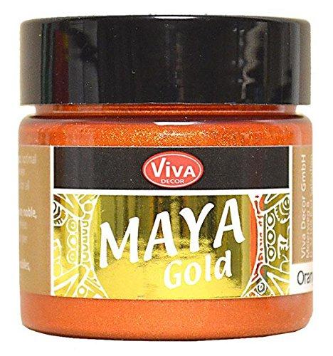Viva Decor Maya Gold Orangegold