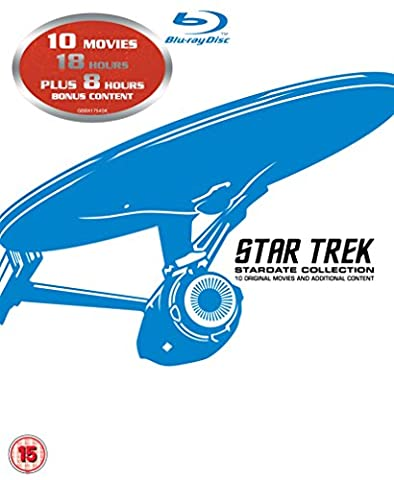 STAR TREK: 1-X [Blu-ray] [UK