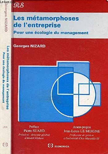 Les métamorphoses de l'entreprise par Georges Nizard (Broché)