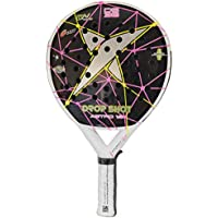 DROP SHOT Astro 1.0 - Pala de pádel, Color Negro/Rosa / Amarillo,