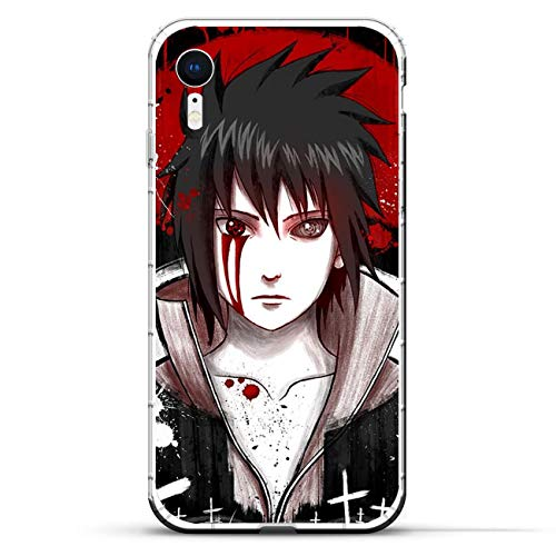 Iphone Silicon Protector (BEMAGIC iPhone Xr Case,Flexible Slim Silicone TPU Protector Cover Soft Thin Gel Skin for Apple iPhone Xr-Uchiha Sasuke 6)