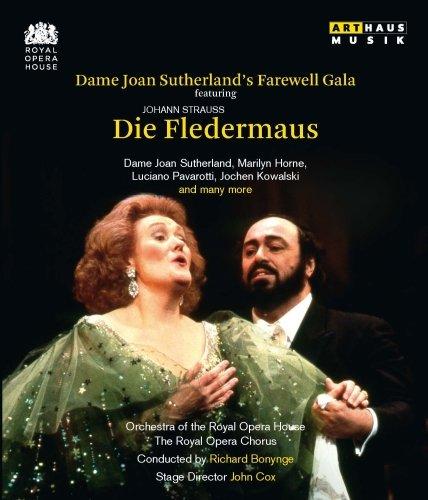Strauss: Die Fledermaus (Royal Opera House 1990, Abschied von Dame Joane Sutherland) (Australien Online Disney)