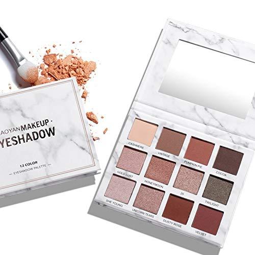 Hübsche Schönheits-Make-upteller-Marmorlidschatten-Paletten-Renaissance