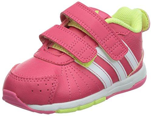 adidas Performance Snice 3 CF D66125 Baby Mädchen Lauflernschuhe, Pink (Bahia Pink S14 / Running White Ftw / Glow S14 D66125), EU 21
