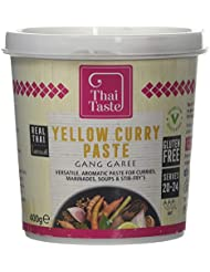 Thai Taste Yellow Curry Paste, 400 g