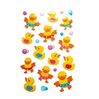 Rubber Duck Stickers Kids / Childrens Labels for party bags , scrap books , card making or notebook decoration