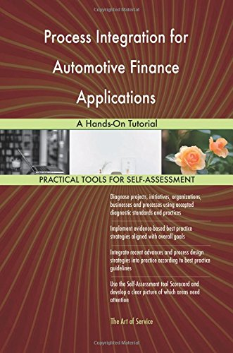 Process Integration for Automotive Finance Applications: A Hands-On - Finance Automotive