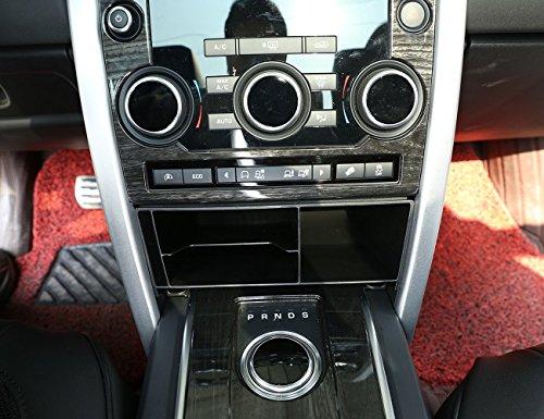 car-styling Innen Zubehör Kunststoff Central Konsole Multifunktions Aufbewahrungsbox Tidy Container mit rutschfester Schaumstoff Telefon Tablett Accessoire, für Discovery Sport 201520162017(sowohl rechts Treiber und Linke Hand Treiber)