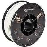 AmazonBasics Filament ABS pour imprimante 3D, 2,85 mm, Blanc, bobine de 1 kg