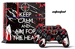 PS4 Console + Controller Skin - Infected