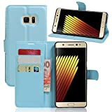Samsung Galaxy Note7 Hülle,Manyip PU Flip Leder Tasche