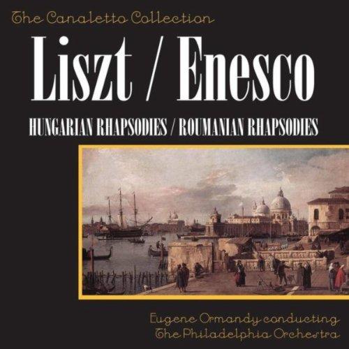 Franz Liszt: Hungarian Rhapsodies 1 & 2 / George Enescu: Romanian Rhapsodies 1 & 2