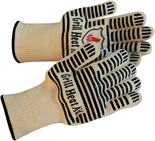 Revolutionre 932 F Extreme Hitzebestndig En407 Zertifiziert Handschuhe Dick Leicht Flexibel 2 Handschuhe Einsatz In Dutch Oven Big Green Egg Pizza Stein Gusseisen Pfanne Kamin Tools Outdoor