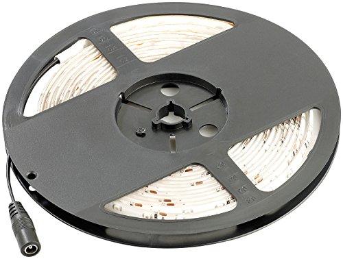 Lunartec LED-Band Garten: LED-Streifen LE-500GA, 5 m, grün, Outdoor IP65 (LED-Lichtbänder Außen...