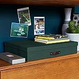 Bigso Box von Schweden A3Leinwand Briefkasten dunkelgrün
