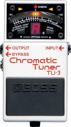 Boss TU-3 Chromatic Tuner Guitar Tuner Pedal