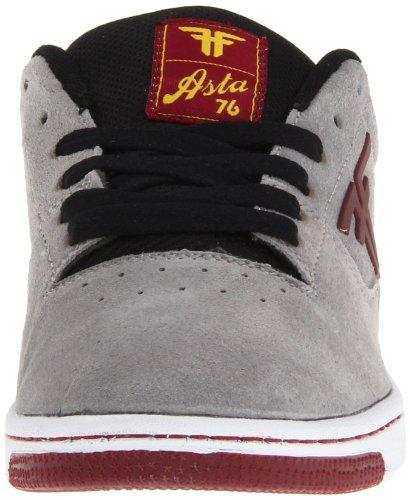 Fallen SEVENTY SIX 41070060, Chaussures de skateboard homme Gris (Cement Grey/Cordovan)