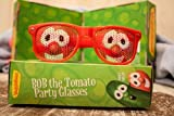 Veggie Tales Bob the Tomato Party Glasses (01108) by New Day Christian Distributors