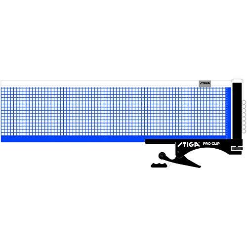 Stiga Pro Clip Table Tennis Net (Pong Ping Net Tennis Table)
