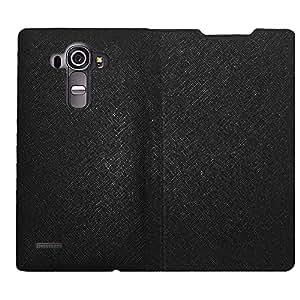 AMZER Flip case - Black for LG G4