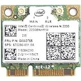 Intel ® Centrino ® Wireless-N 2230 N-2230 2230BNHMW Mini Pcie Half Wireless Network Card 4.0 Bluetooth IEEE 802.11b/g/n 300Mbps 2230BNHMW for IBM Thinkpad Edge Series (Edge E531)