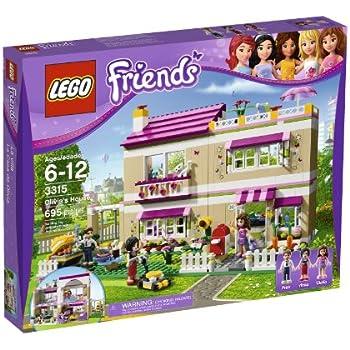 Lego friends 3315 jeu de construction la villa jeux et jouets - Jeux lego friends gratuit ...