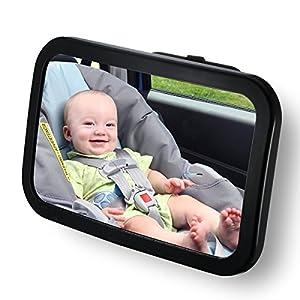 Espejo Retrovisor Coche de VicTsing para Vigilar al Bebé 360°