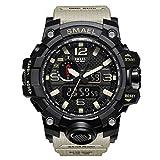 Reloj de pulsera Hombre Reloj Deportivo Militar Reloj Smart Moda Reloj de  Pulsera Reloj Pulsera Digital 5eb7f46ec66b