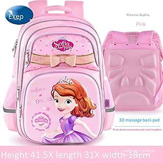 51rTSWdxWJL. SS324  - Mochila Infantil Guardian Princess Princesa Sofia 3D