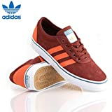 Adidas Adi Ease 2 Trainers Mens Youths Skate Shoe Fox Brown New Boxed UK 6 - 6.5
