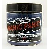 Tinte capilar fórmula clásica en crema de Manic Panic High Voltage (Blue Steel - azul acero)