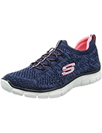 Skechers Empire-Sharp Thinking, Zapatillas para Mujer