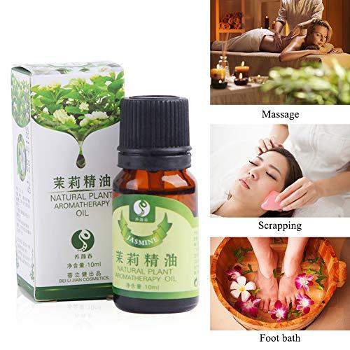Pflanzenextrakt Öl gegen Müdigkeit Stressabbau Massageöl Ätherisches Öl der Jasminrose Ätherisches Öl Lavendel Ätherisches Öl-10ml