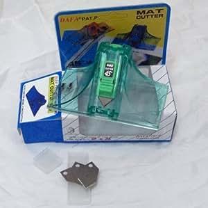 DAFA Cutter bi-directionnel de précision pour carton plume - Angle 45° 90°