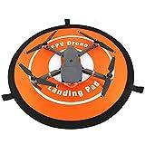 Ouneed 55CM Fast-Fold Landing Parking Schürze Pad für DJI MAVIC PRO SPARK 3DR S6 Drone (Orange)
