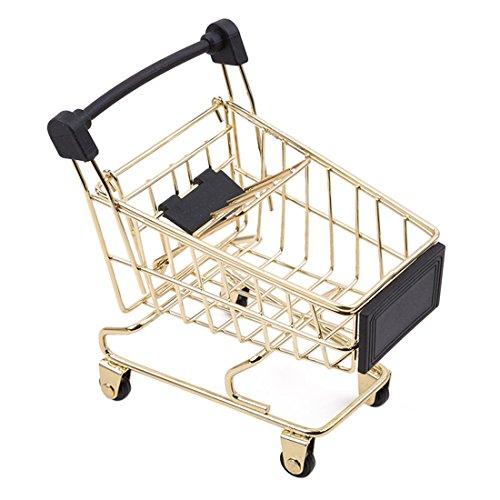 Yesiidor Mini Supermarket Carro de la compra de la utilidad...