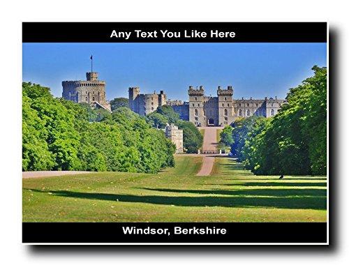 Windsor Berkshire, UK personalizzato Jumbo (Windsor Testa)