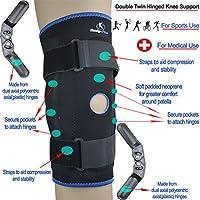Gelenk-Kniestütze mit Patellaöffnung, stützt und stabilisert, mit Klettgurt preisvergleich bei billige-tabletten.eu
