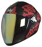 Best Dual Sport Helmet - Steelbird Air Strength Full Face Graphics Dual Action Review