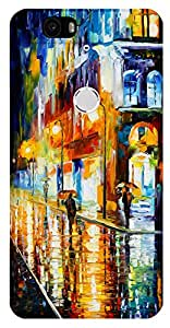 TrilMil Printed Designer Mobile Case Back Cover For Huawei Nexus 6P