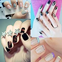ACROPLIS 30 Pcs 30 Colors Rolls Striping Tape Line Nail Art Decoration Sticker Tips DIY Nail Tool For Girls Ladies
