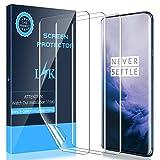 LK [3 Pezzi] Pellicola Protettiva per OnePlus 7 PRO, Adatta a Sensore Ultrasonico [Compatibile con...