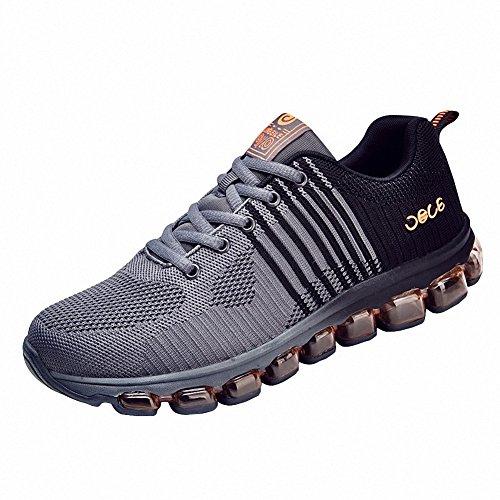 Ben Sports Chaussures de running sur route homme chaussures de course Chaussures de sport homme Baskets mode homme gris