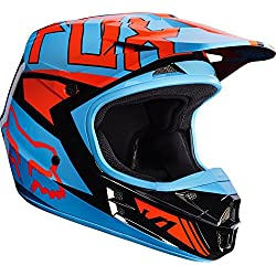 Casco Fox V1 Falcon azul Talla XL
