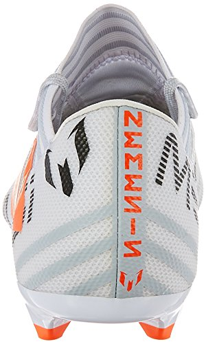 adidas Herren Nemeziz Messi 17.3 FG Fußballschuhe Mehrfarbig (Ftwr White/solar Orange/clear Grey )
