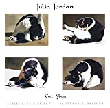 Julia Jordan Poster Kunstdruck Bild Cat Yoga 61x62cm
