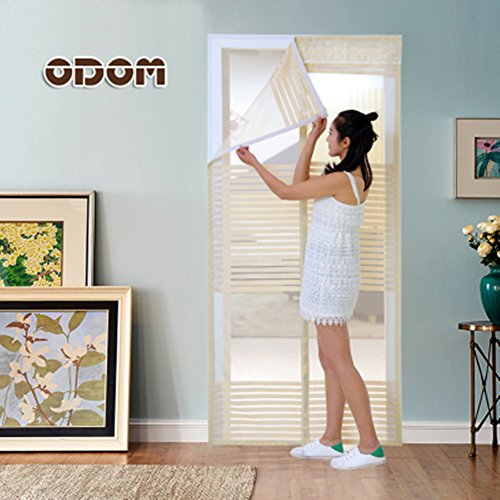GZQHH Fliegengitter Tür Insektenschutz Magnet Fliegenvorhang Automatisches  Schließen Moskitonetz,Vorhang Für Balkontür Wohnzimmer Schiebetür